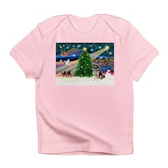 XmasMagic/G Shepherd #10 Infant T-Shirt