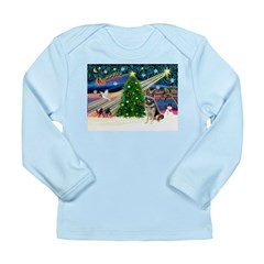 XmasMagic/G Shepherd #10 Long Sleeve Infant T-Shir