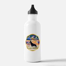 XmasStar/German Shepherd #14 Water Bottle