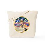 XmasStar/German Shepherd #13B Tote Bag
