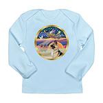 XmasStar/German Shepherd #13B Long Sleeve Infant T