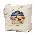 XmasStar/German Shepherd #13 Tote Bag
