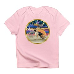 XmasStar/German Shepherd #13 Infant T-Shirt