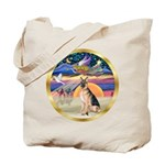 XmasStar/German Shepherd #11 Tote Bag