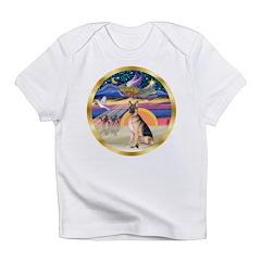 XmasStar/German Shepherd #11 Infant T-Shirt