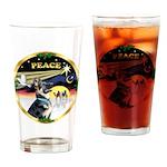 XmasDove/German Shepherd #15 Drinking Glass