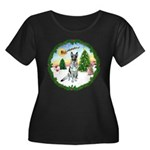 Take Off1/German Shepherd #12 Women's Plus Size Sc
