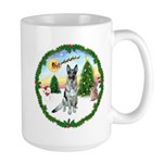 Take Off1/German Shepherd #12 Large Mug