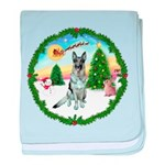 Take Off1/German Shepherd #12 baby blanket