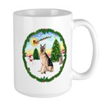 Take Off1/German Shepherd #11 Large Mug
