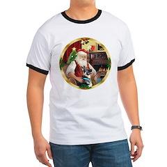 Santa's German Shepherd #15 T