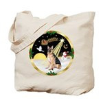 Night Flight/ German Shepherd Tote Bag