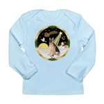 Night Flight/ German Shepherd Long Sleeve Infant T