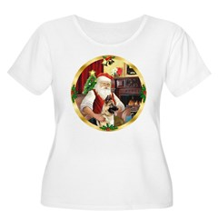 Santa's German Shepherd #13 T-Shirt