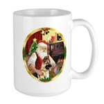 Santa's German Shepherd #13 Large Mug