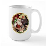 Santa's German Shepherd #11 Large Mug