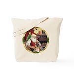 Santa's German Shepherd #11 Tote Bag