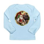 Santa's German Shepherd #11 Long Sleeve Infant T-S