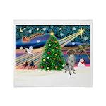Xmas Magic/German SHP Throw Blanket