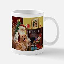Santas Gold Retriever Mug
