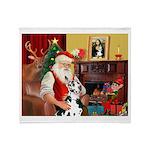 Santa's Great Dane (H) Throw Blanket