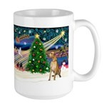 Xmas Magic & Gr Dane Large Mug