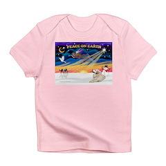 XmasSunrise/Pyrenees 1 Infant T-Shirt