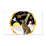 Night Flight/Greyhound (brin) 22x14 Wall Peel
