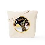 Night Flight/Greyhound (brin) Tote Bag