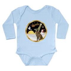 Night Flight/Greyhound (brin) Long Sleeve Infant B
