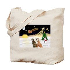 NIGHT FLIGHT<br>& 2 Greyhound Tote Bag