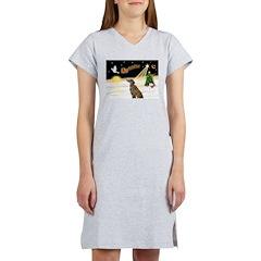 Night Flight/Greyhound (brin0 Women's Nightshirt