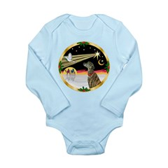 XmasDove/Greyhound Long Sleeve Infant Bodysuit