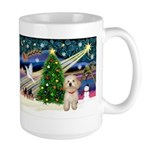 XmasMagic/Havanese pup Large Mug