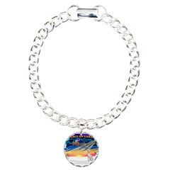 XmasSunrise/Ital Greyhound Bracelet