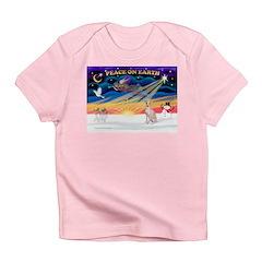 XmasSunrise/Ital Greyhound Infant T-Shirt