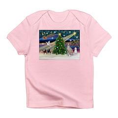 XmasMagic/Ital.Greyt1 Infant T-Shirt