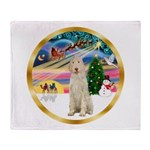 XmasMagic/Spinone #11 Throw Blanket