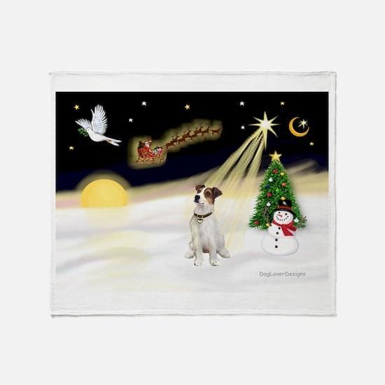 Night Flight/ JRT #1 Throw Blanket