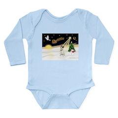 Night Flight/ JRT #1 Long Sleeve Infant Bodysuit