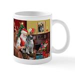 Santa/Keeshond Mug