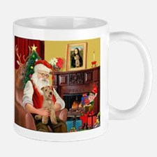 Santa/Lakeland Terrier Mug