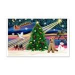 XmasMagic/Lakeland Ter 22x14 Wall Peel