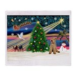 XmasMagic/Lakeland Ter Throw Blanket