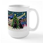 Xmas Magic & Lab PR Large Mug