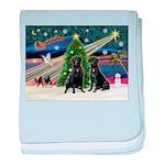Xmas Magic & Lab PR baby blanket