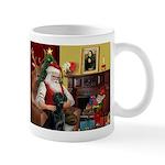 Santa's Black Lab Mug
