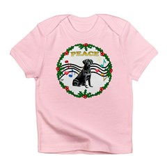 XmasMusic1MC/ Lab Infant T-Shirt