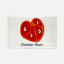 Chamber Music Rectangle Magnet