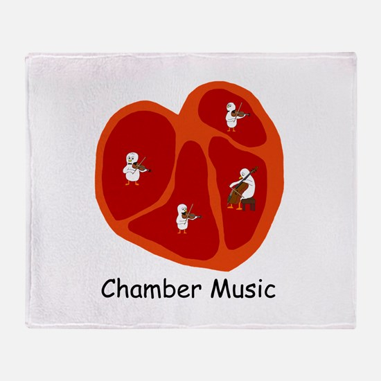 Chamber Music Throw Blanket
